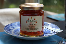 Janes marmalade from Dalemain estate.